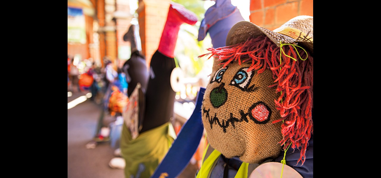 School Scarecrow Competition supported by Brunnings