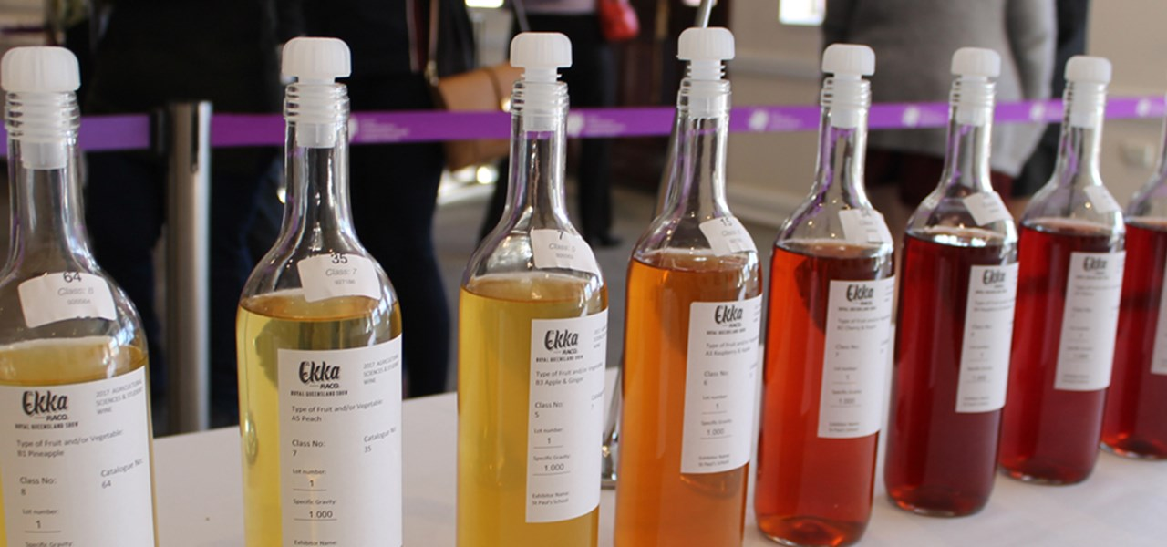 Agricultural Sciences & Student Fruit Wines