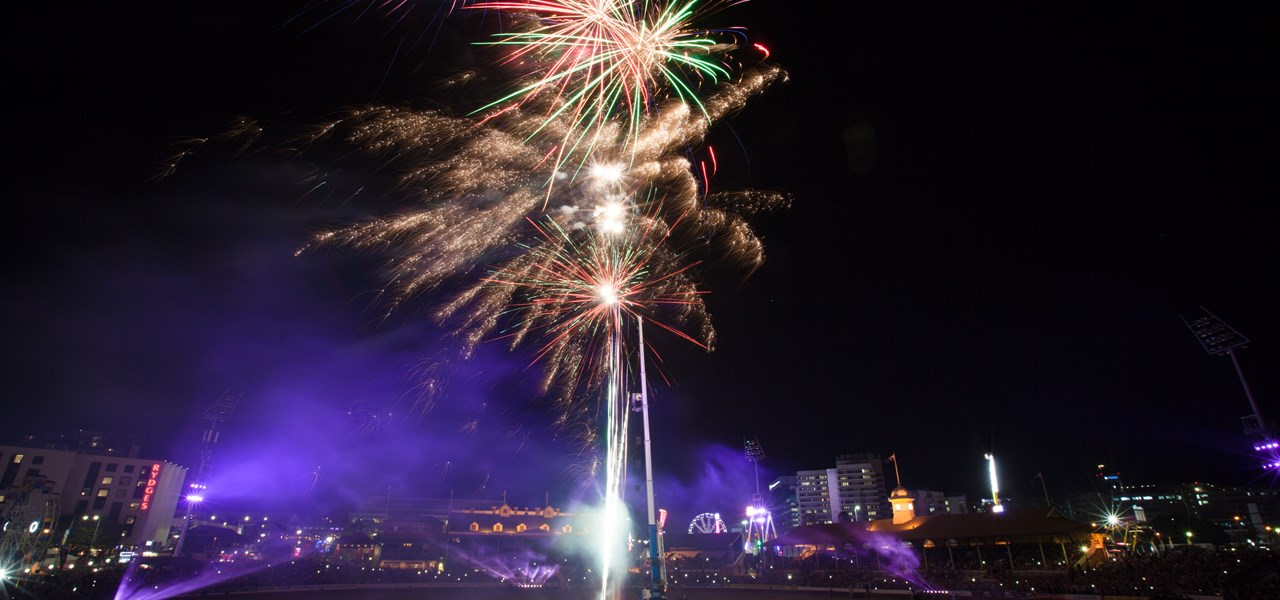 Children's Fireworks presented by MG Motor