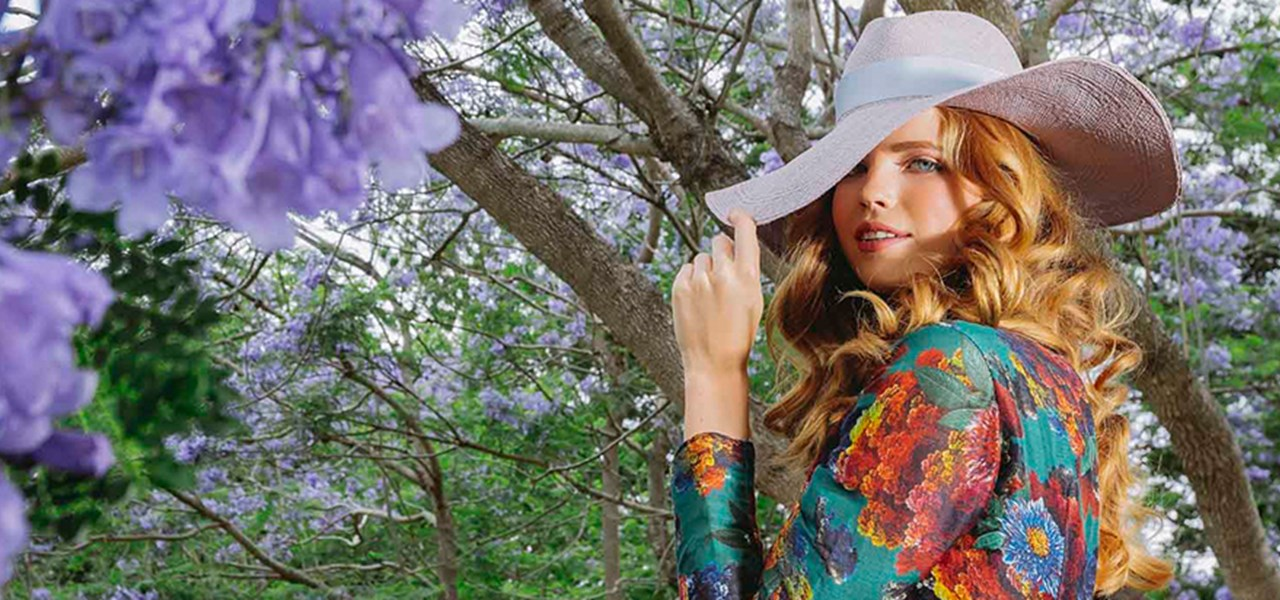 Nature in Bloom Natural Fibres Fashion Parades presented by Channel Seven