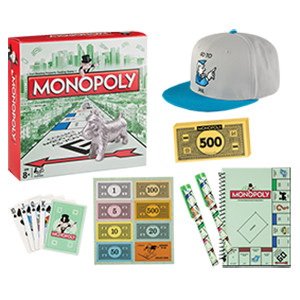 Ekka with kids: Monopoly Showbag with mini board game