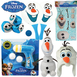 Ekka with kids 2016: Frozen Olaf showbag $20. Image: RNA Showgrounds.