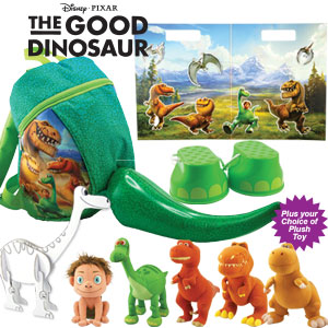 Ekka 2016 with kids: New The Good Dinosaur showbag $26. Image RNA.