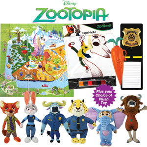 Ekka with kids 2016: New Disney Zootopia Showbag $28. Image RNA.