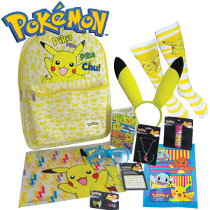 Pokemon Girl Showbag at Ekka 2016
